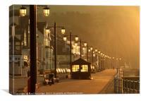 Dawn at Sidmouth, Canvas Print