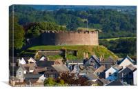 Totnes Castle, Canvas Print