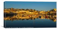 Torquay Harbour Panoramic, Canvas Print