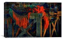 Fishing Gear, Brixham    , Canvas Print