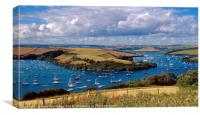 Salcombe-Kingsbridge Estuary, Canvas Print
