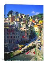 Riomaggiore, Italy, Canvas Print
