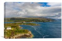 Scottish Highlands scenery, Canvas Print