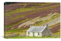 Abandoned cottage, Canvas Print