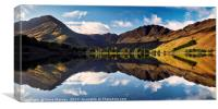 Springtime at Buttermere, Canvas Print