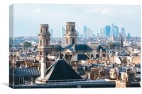 Paris Skyline  , Canvas Print