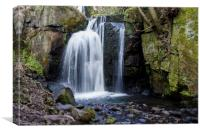 Lumsdale Falls Pool, Canvas Print