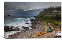 Cape Cornwall, Canvas Print