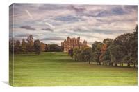 Wollaton Hall, Canvas Print