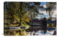 The Old Boathouse, Canvas Print