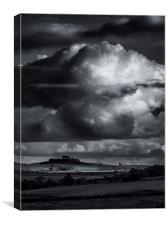 Minninglow Hill Derbyshire, Canvas Print