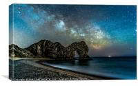 DURDLE DOOR to the Milkyway, Canvas Print