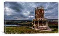 Clavell Tower view, Canvas Print
