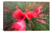 Poppy vortex , Canvas Print