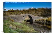 Clachan Bridge Over The Atlantic, Canvas Print