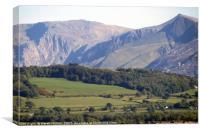 Snowdonia        , Canvas Print