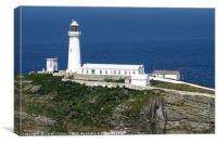 South Stack Lighthouse , Canvas Print