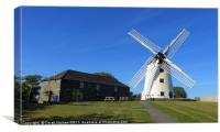 Llynnon Mill, Anglesey                            , Canvas Print