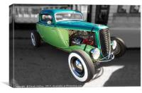 Ford Coupe Hotrod                               , Canvas Print