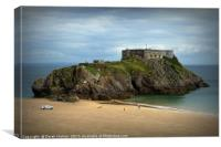St Catherine's Fort Tenby                         , Canvas Print