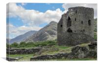 Dolbadarn Castle, Canvas Print