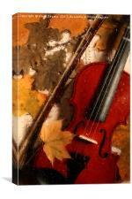 4 seasons. Autumn., Canvas Print