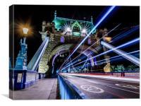 Tower Bridge Long Exposure, Canvas Print