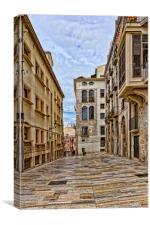 Spain, Tarragona  street, Canvas Print