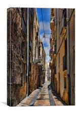 Spain, Tarragona, , Canvas Print