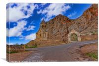 Monastery in Armenia, Canvas Print