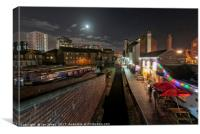 Gas Street Basin , Canvas Print