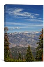 Kings Canyon, California, Canvas Print