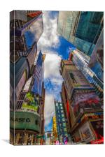 Times Square, New York, Canvas Print