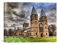 Southwell Minster, Southwell, Canvas Print