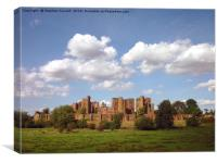 Kenilworth Castle, Warwickshire, Canvas Print