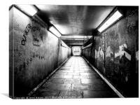 Dunkirk Underpass , Canvas Print