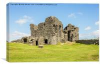 Kendal Castle Ruins, Canvas Print