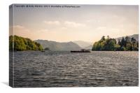 Lake Keswick, Canvas Print