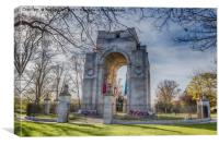 Arch of Remembrance, Canvas Print