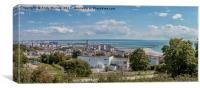 Panoramic View Of Le Havre, France, Canvas Print