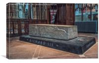 King Richard's Tomb, Canvas Print