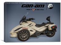Can-Am Spyder, Canvas Print