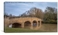 Bridge Over The Soar, Canvas Print