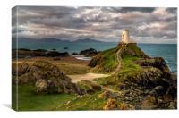 Twr Mawr Lighthouse, Canvas Print