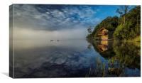 Swan Lake., Canvas Print