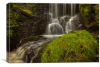 The Gill waterfall., Canvas Print