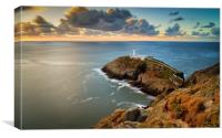 South Stack Lighthouse., Canvas Print