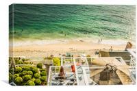Sunny Day At Laguna Riviera, Canvas Print