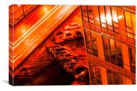 Red Light Overpass, Canvas Print
