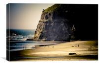 Late Afternoon Beach Nostalgia, Canvas Print